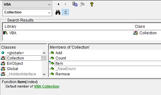 VBA Trap: Default Members – Rubberduck News